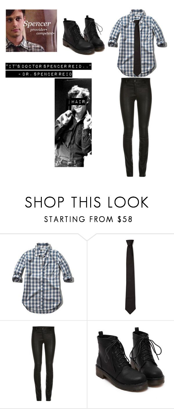 """Spencer Reid"" by allday-allthesame ❤ liked on Polyvore featuring Abercrombie & Fitch and ElleSD"