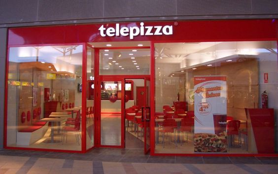 Telepizza, fast food resturant by Stone Designs, Madrid (Spain) 2006 #Telepizza #StoneDesigns