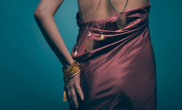 Photo shoot of my jewelry.