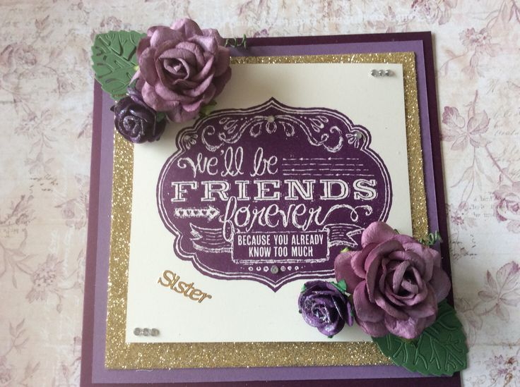 Stampin Up Friends Who Know