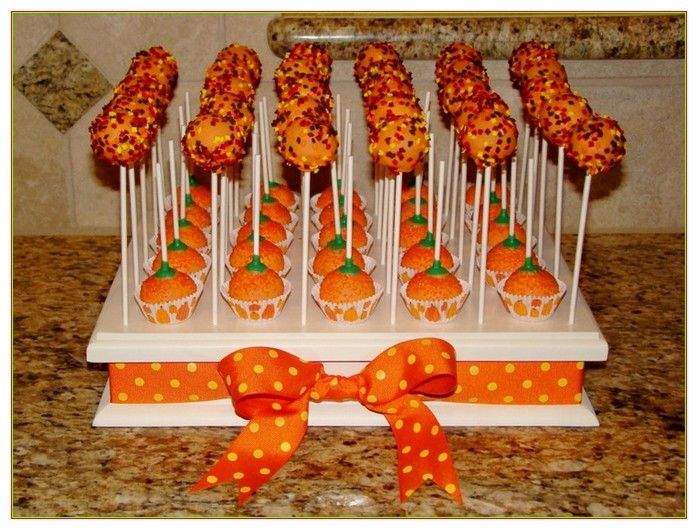 Cake Pop Display Stand Ideas