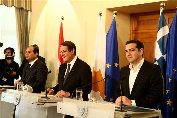 Κοινή διακήρυξη συνεργασίας Ελλάδας – Κύπρου – Αιγύπτου
