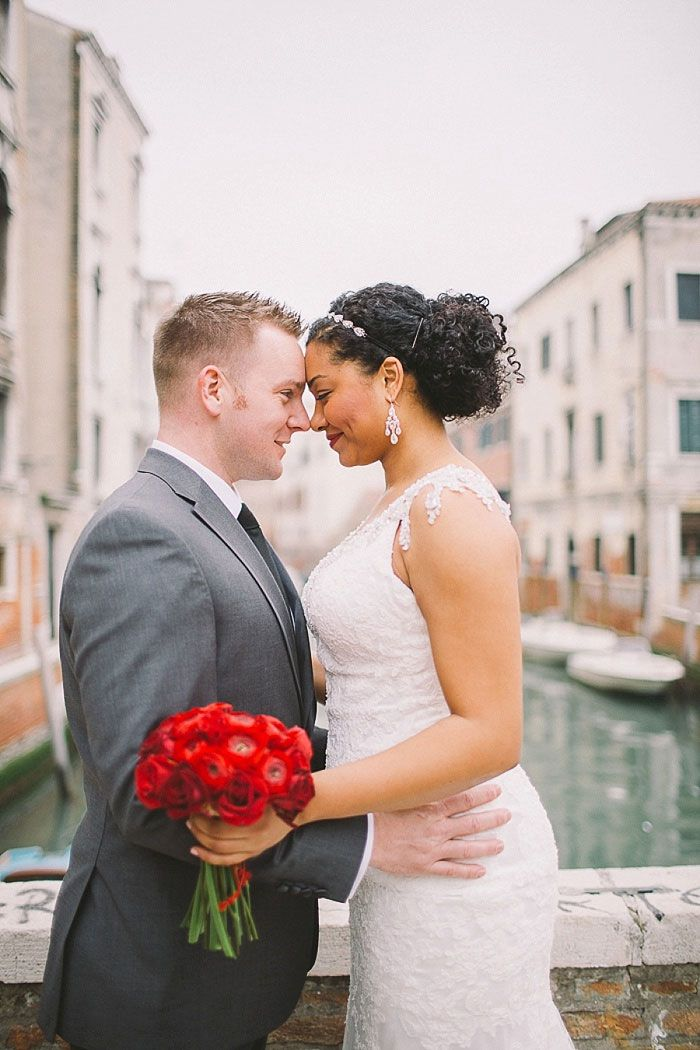Alexandra and Christian's Valentine's Day Venice Elopement