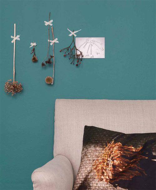 Elk jaar kiest Flexa dé ultieme trendkleur voor de komende twaalf maanden.  Teal (a beautiful green/blue color) is THE trendcolor this year 2014.  http://www.vtwonen.nl/blog/kleurinspiratie/kleurtrend-2014.html