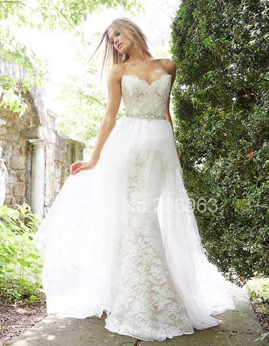 Cheap dress maker, Buy Quality dress weeding directly from China dress hockey Suppliers: Detachable SkirtWedding Dresses