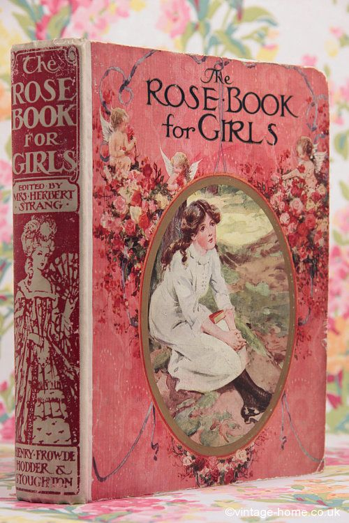 Vintage Home - Victorian Rose Book for Girls: www.vintage-home.co.uk