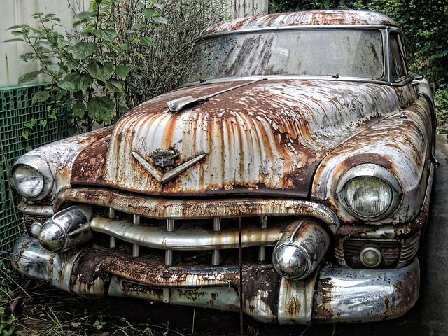 Scrapped Vehicle Rust