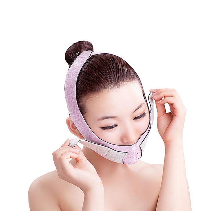 Slim פנים! תחבושת תיקון בריאות טיפוח פנים לילה מסכת and יום באמצעות Slim Shaper לשרוף את השומן דקה חגורת פנים של שלך פנים