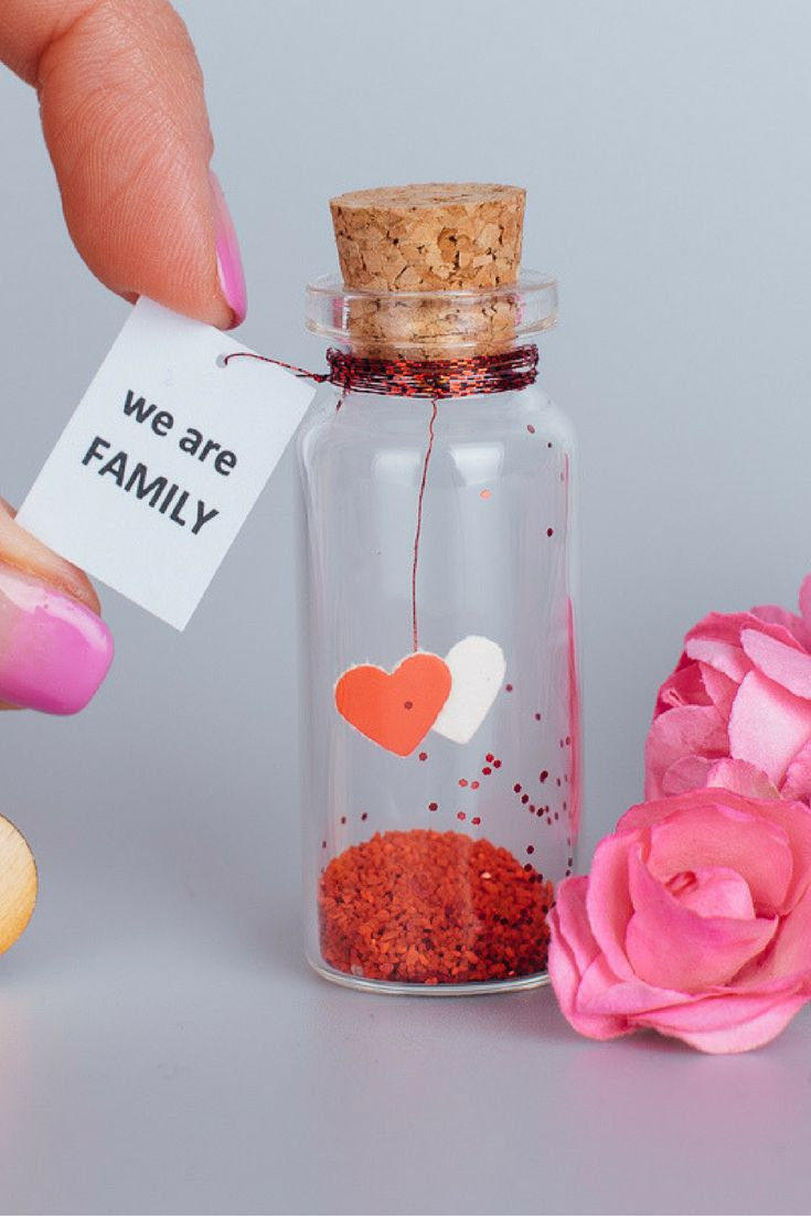 Personalized Gift For Husband Message In A Bottle Anniversary Gift For Wife From Husband We Are Family Card Cute Husband Gift To Wife
