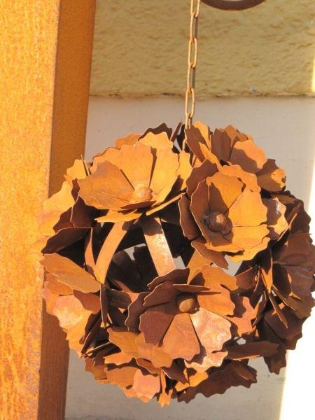 101 besten Gartendeko aus Edelrost Bilder auf Pinterest Edelrost - gartendeko aus stein und metall