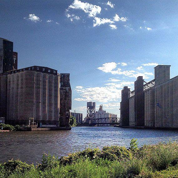 Down By the River  Silo City Buffalo NY by EMorrisPhotography