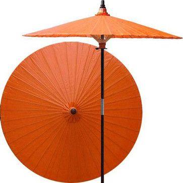 Passionfruit patio umbrella asian-outdoor-umbrellas