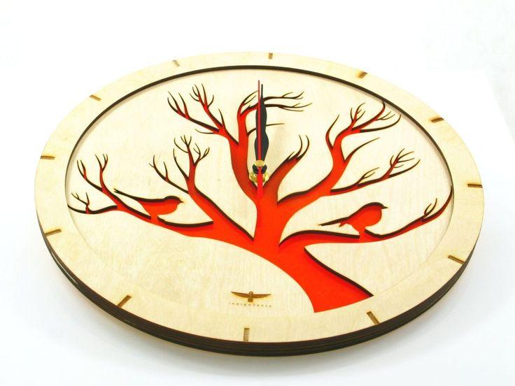 #wooden # clock #wood #handmade #designe #modern #clocks #indigovento #watches #watch #gift #happyclock #woodwork #woodshop #home #deco #decoration #decor #homedecor