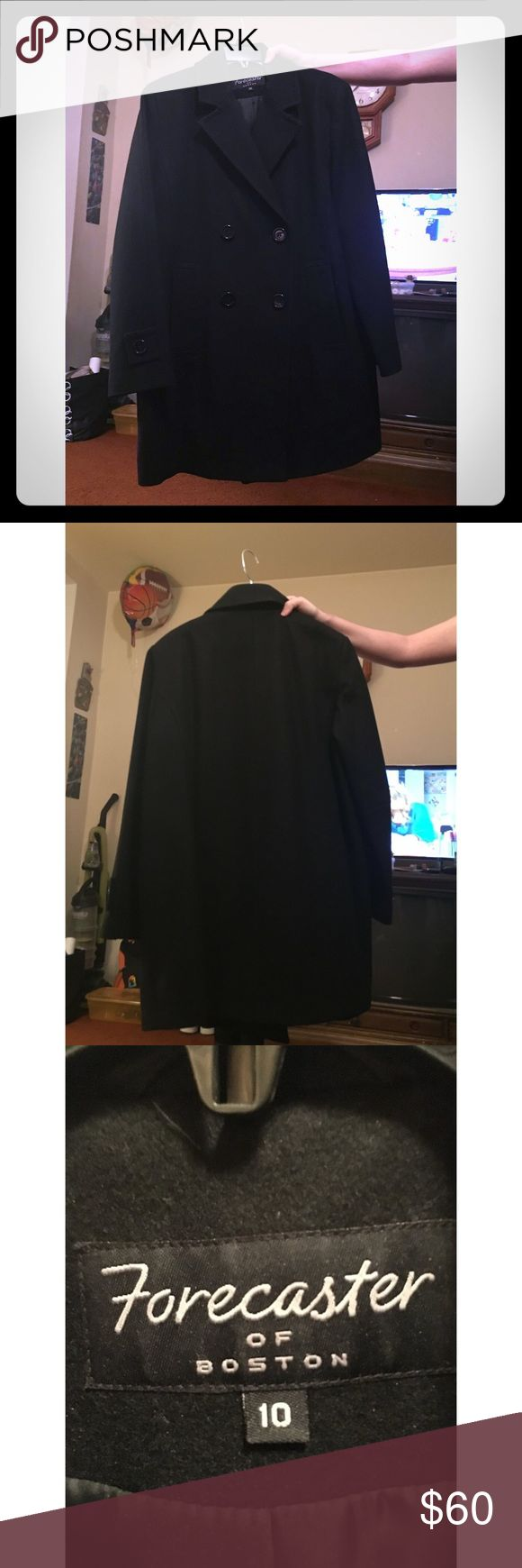 💲DEAL💲Forecaster of Boston Peacoat •Forecaster of Boston Peacoat •Size: 10 •Wool •Gently used ; excellent condition •Mid-thigh length •Ideal for the chilly months Jackets & Coats Pea Coats