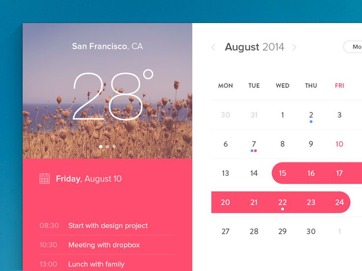37 best Tablet UI Calendar images on Pinterest Calendar, Life - event calendar templates