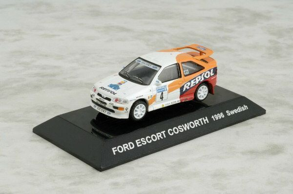 1/64 CMs RALLY CAR COLLECTION SS9 Diecast FORD ESCORT COSWORTH 1996 Swedish