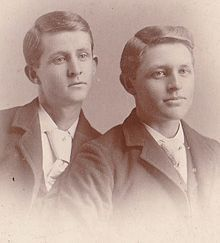 Bill and Frank Dalton Look so young and innocent.