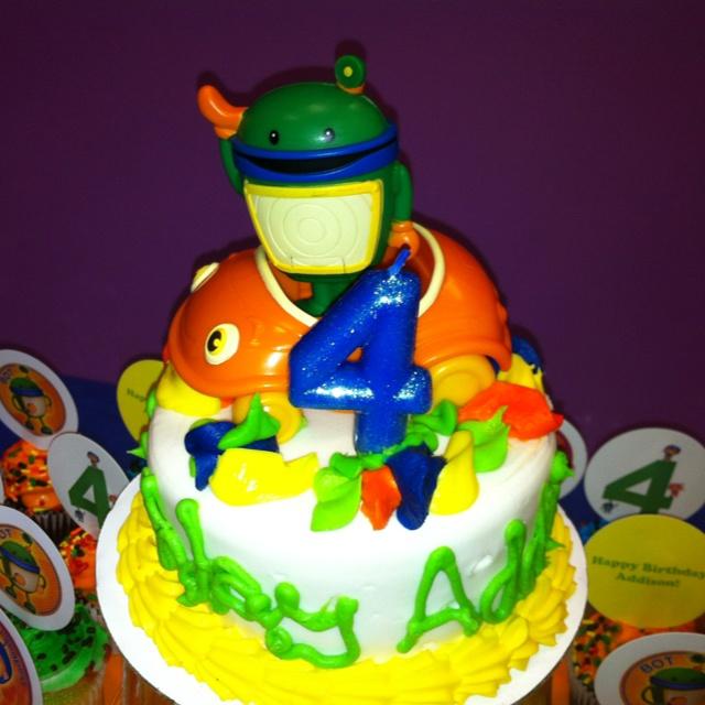 Team umi zoomi birthday cake