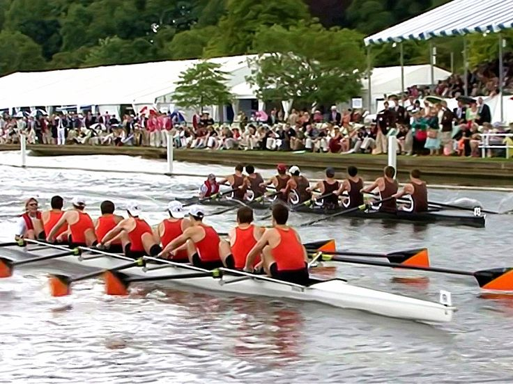 Henley Royal Regatta on the Thames
