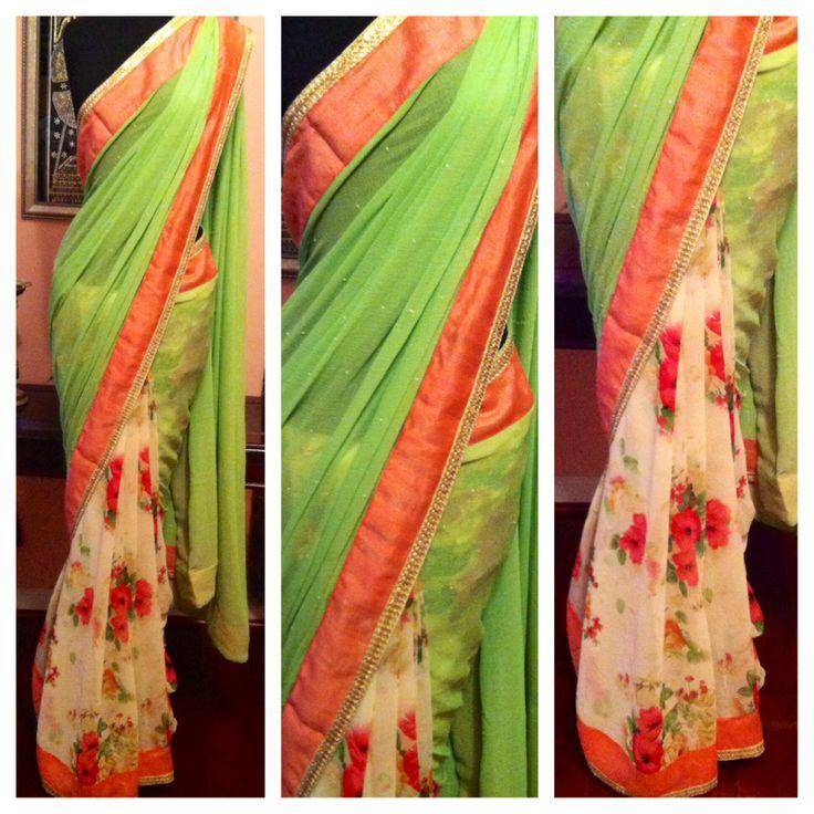 Spring sari collection!