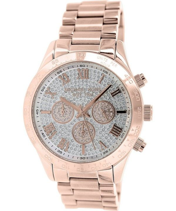 Michael Kors Layton Chronograph Crystal Pave Dial MK5946 Womens Watch
