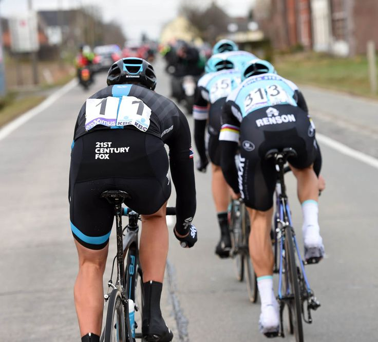 2015 Omloop Het Nieuwsblad Ian Stannard let his Etixx-QuickStep escape companions create the gap back to the chase group