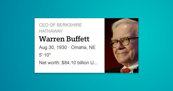 Warren Edward Buffett is an American business magnate, investor, and philanthropist who serves as the …