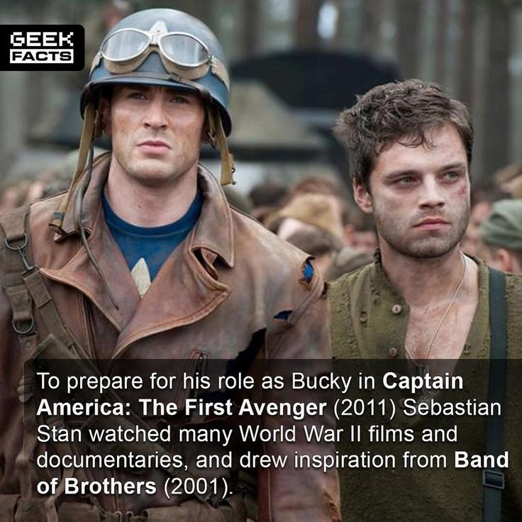 Band of Brothers is a work of art. If you havent watched it I highly recommend you put it on your Christmas list. Its a triumph of a show. Incidentally rate your Cap films from best to worst. Mine - Winter Soldier Civil War and First Avenger. Comment below.  --- Must Follow  - @MovieFacts  - @GeekFacts  - @GeekQuote
