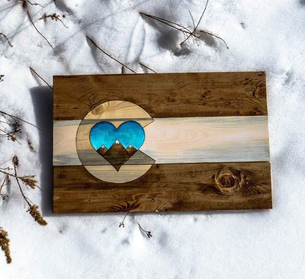 Colorado Mountain lovers! ColoradoWoodCraft cowoocraft.com