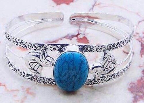 Turquoise Cufflink Bracelet in 925   https://www.etsy.com/shop/AngelicEnchantments