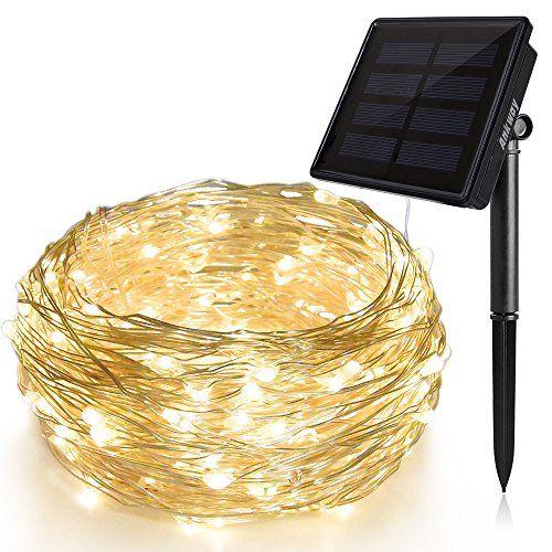 Solar String Lights (72 ft, Waterproof, 8 Modes), Ankway ... https://smile.amazon.com/dp/B01HCTCHHK/ref=cm_sw_r_pi_dp_x_zLjlzbW5WKH7R