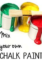 chalk paint recipe roundup, chalk paint, painting, A round up of chalk paint recipes