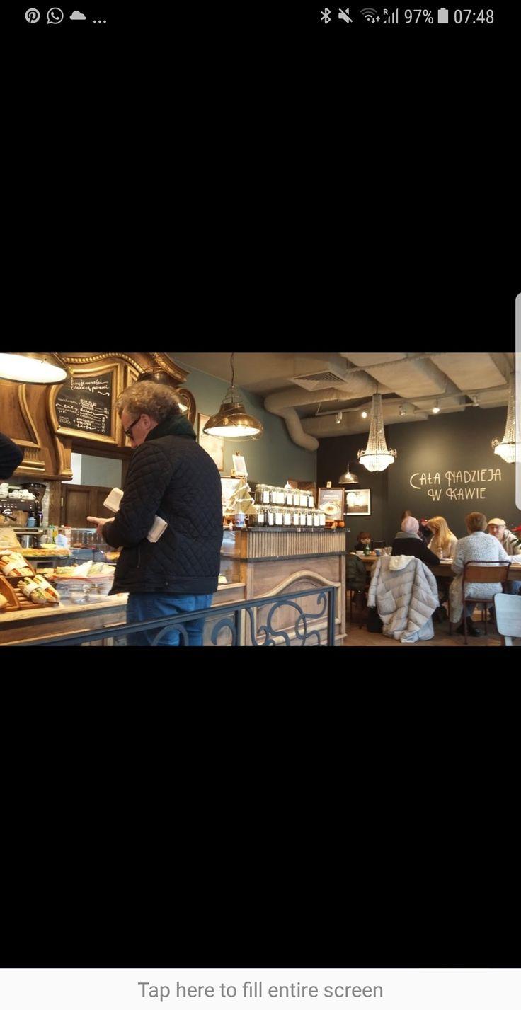 Green caffe nero Warsaw