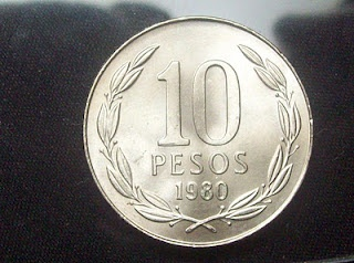 Chilean coin post Coup d'état of 1973