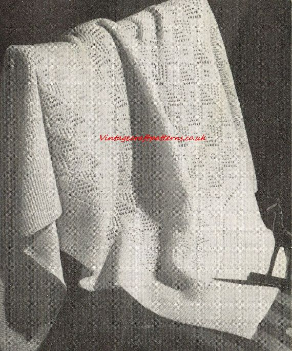 Vintage Shawl Knitting Patterns : 1000+ images about Vintage shawl knitting patterns on Pinterest Coats, Baby...