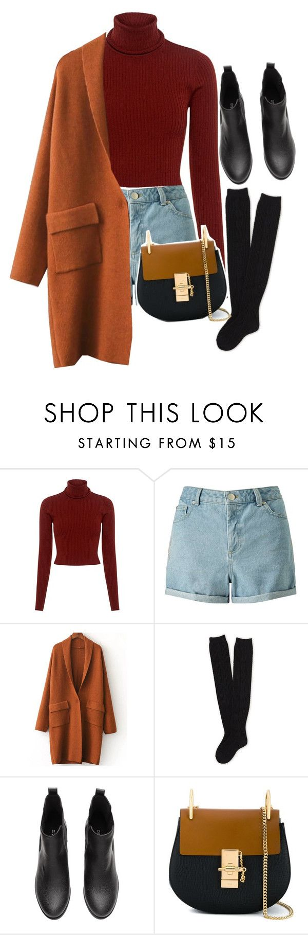 """""""noora skam"""" by bruhkyu ❤ liked on Polyvore featuring A.L.C., Miss Selfridge, Aéropostale and Chloé"""