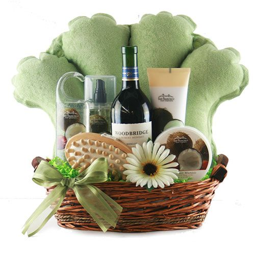 Spa Pamper Gift Baskets Tranquility Basket Design It Gifts Raffle Pinterest And