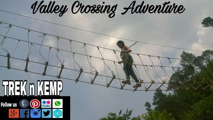 Valley Crossing Adventure with proper safety and imported gears.  Adventure Activity Provided : Zip-Line/Flying Fox River Rafting Paragliding Climbing & Rappelling Water Sports Hiking, Trekking, Camping etc   For #mindGames #TeamBuilding #adventureActivities #camping #trekking #groupBuilding etc, contact :               TREK n KEMP Best deals to Untouched Places !!   Follow us : - www.facebook.com/TREKnKEMP/ www.instagram.com/trek_n_kemp/ www.twitter.com/TREK_n_KEMP/  Contact: 9958146389