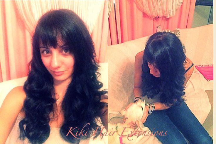 Brunnete colour /Haircut