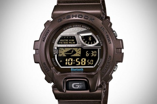 G-SHOCK Brown, Bluetooth