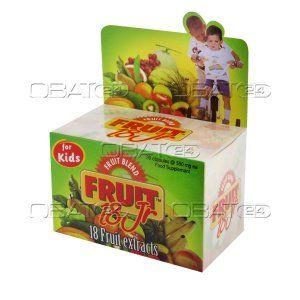 FRUIT BLEND 18 JR BTL 30'S  Indikasi: melancarkan bab, meningkatkan daya tahan tubuh, mencukupi kebutuhan nutrisi buah. Pabrik: pharos