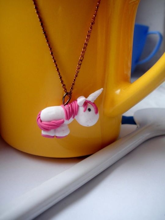 unicorn  - fimo sculpey polymer clay