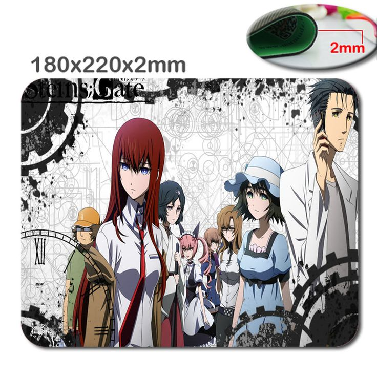 Design Anime DIY HD 3D fast print PC mputer Gaming Mousepad Fabric + Rubber Material in 220mm*180mm*2mm - accessory and gift