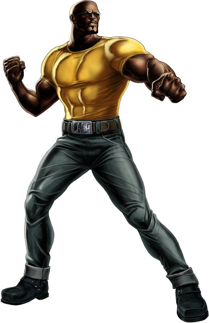 Luke Cage Scrapper Original Suit. Team Heroes for Hire