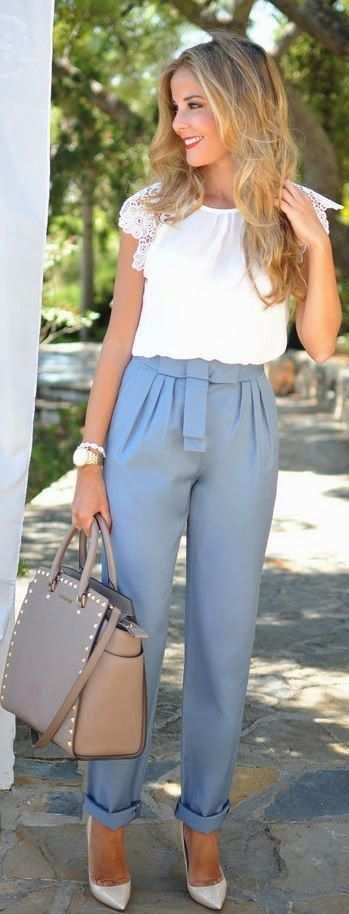 Women's fashion work outfit