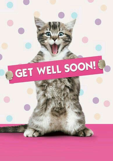 GET WELL SOON! Sending healing prayers, gentle hugs and lots of love. XOXO's
