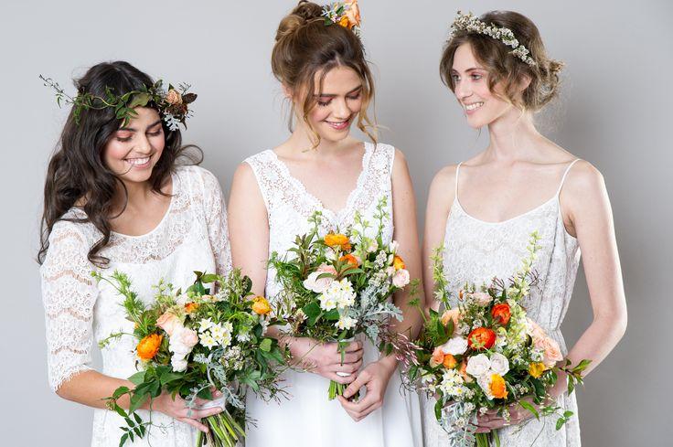 Mia, Daisy and Eva dresses by Sally Eagle