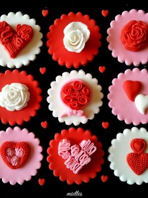 valentine cupcakes for him