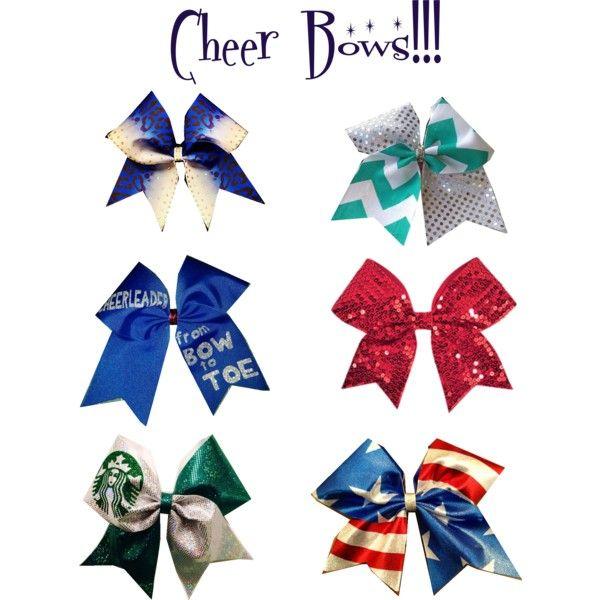 Cheer Bows!!! *Patterned Bows*