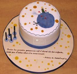 The little prince / Le petit prince Birthday Cake - La Forge à Gâteaux #TheLittlePrince #LePetitPrince  www.laforgeagateaux.com